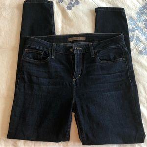 Joes jeans dark wash skinny